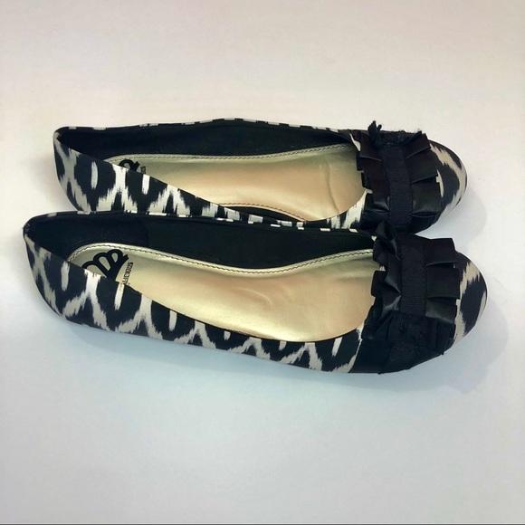 Fergalicious Shoes - Fergalicious by Fergie Black & White ballet flat